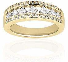 diamond eternity wedding bands by weddingbands25