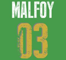 Malfoy Quidditch Training shirt by keany16