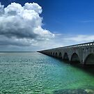 Seven Mile Bridge, The Keys by Ludwig Wagner