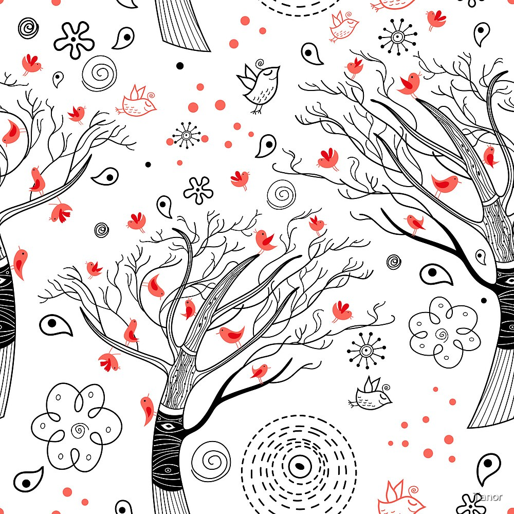 beautiful trees by Tanor