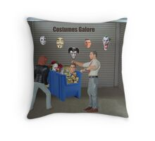 I know you're excited about the costume ball, but I think you're getting ahead of yourself!! Throw Pillow