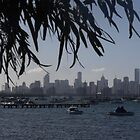 Port Phillip Bay, Melbourne by Kymbo
