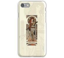Steampunk Nouveau 2- Cream iPhone Case/Skin