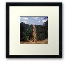 Parc Natural del Montseng, Spain 2012 Framed Print