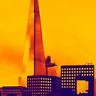 Modern - The Shard London England by Natalie Kinnear