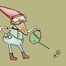 Sassy Garden Gnome by Sophie Corrigan