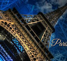 Eiffel Deux Card by Randy Turnbow