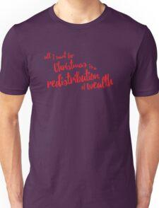 Communist Christmas - Wealth Redistribution Unisex T-Shirt