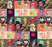 18 Cartoon Protagonists by eleanorose123
