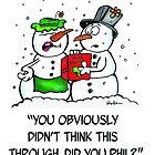 "Hobbstoons - ""Phil The Snowman"" by THobbsDesigns"