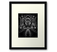 Metropolitan United Church 1 Toronto Canada Framed Print