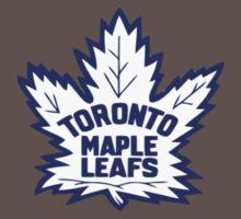Toronto Maple Leafs Retro Logo One Piece - Short Sleeve