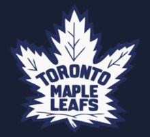 Toronto Maple Leafs Retro Logo Kids Tee