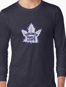 Toronto Maple Leafs Retro Logo Long Sleeve T-Shirt