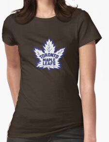 Toronto Maple Leafs Retro Logo Womens Fitted T-Shirt