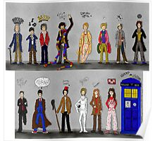 The Doctors and the Companions Poster