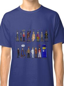 The Doctors and the Companions Classic T-Shirt