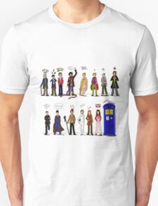 The Doctors and the Companions T-Shirt