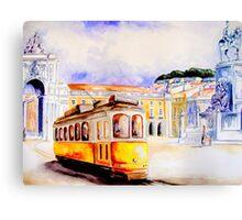 Lisbon... Canvas Print