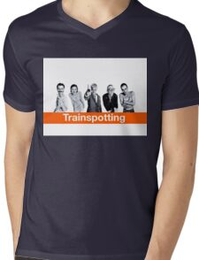 Trainspotting Mens V-Neck T-Shirt