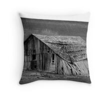 Abandoned In Idaho Throw Pillow