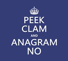 Keep Calm and Anagram On Unisex T-Shirt