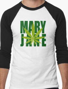 Mary Jane Men's Baseball ¾ T-Shirt