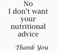 Nutritional Advice by veganese