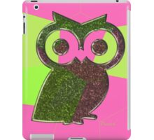 smart owl iPad Case/Skin