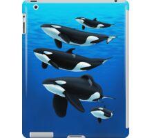 Pod of Orcas iPad Case/Skin