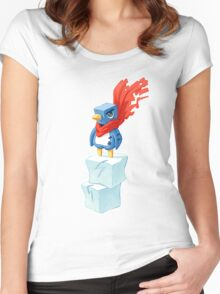 Super Penguin Women's Fitted Scoop T-Shirt
