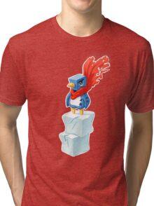 Super Penguin Tri-blend T-Shirt