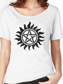 Supernatural Anti-Posession Symbol Women's Relaxed Fit T-Shirt