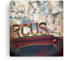 santas circus Canvas Print