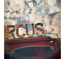 santas circus Photographic Print