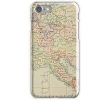 Modern history; Europe map iPhone Case/Skin