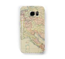 Modern history; Europe map Samsung Galaxy Case/Skin