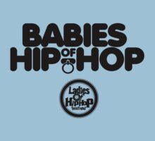 Ladies of Hip-Hop Babies Baby Tee