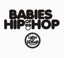 Ladies of Hip-Hop Babies One Piece - Short Sleeve