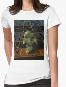 The Artists Idea Womens Fitted T-Shirt