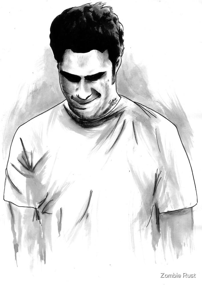 DARK COMEDIANS: Seth Rogen by Zombie Rust