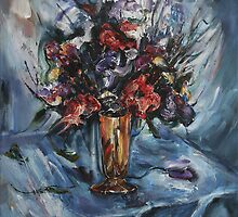 Still-Life with Copper Vase by Stefano Popovski
