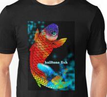 halftone fish Unisex T-Shirt