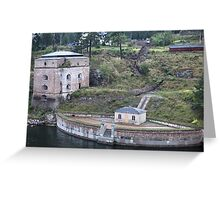 Maritime Fortress Greeting Card