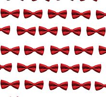 Bow Tie iPhone Case by nadineff