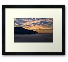 Upper Murray River Dawn - Jingelic NSW - Upper Murray - The HDR Experience Framed Print