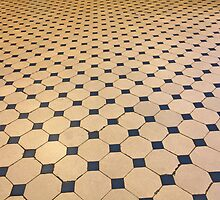 old tiled floor by mrivserg