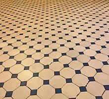 old tiled floor by mrivserg
