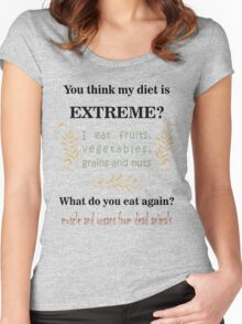 Extreme Diet Women's Fitted Scoop T-Shirt