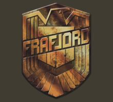 Custom Dredd Badge Shirt - (Frafjord) by CallsignShirts